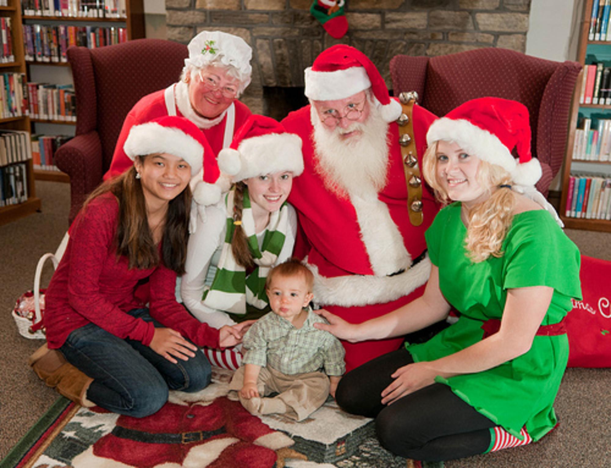Hunky Santa Visits Patrick