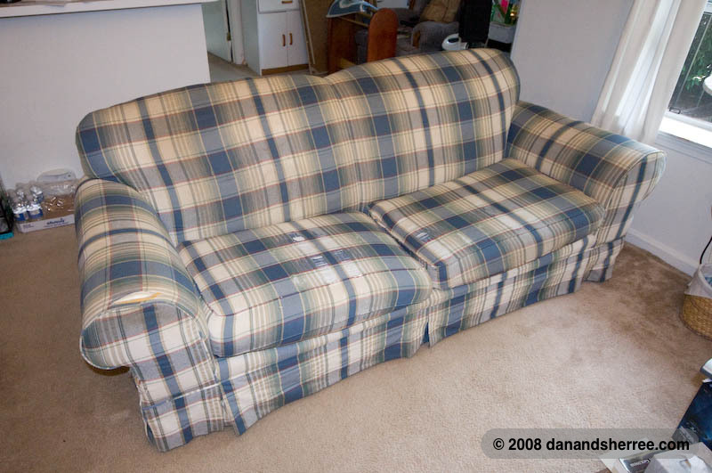 Our New Couch | Dan & Sherree & Patrick
