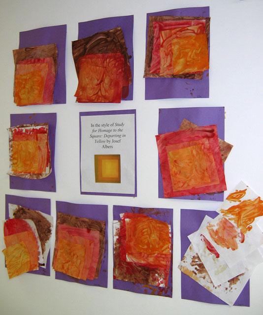 preschool art show dan sherree patrick