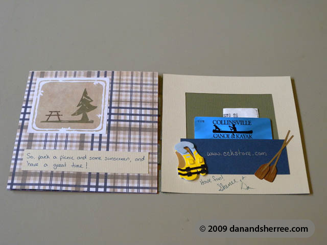 Wedding Gift Card Presentation : Another Gift Card Presentation- A Wedding Gift Dan & Sherree ...